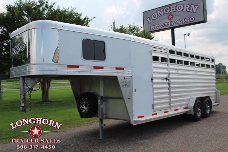 2020  Exiss 4 Horse Combo with Front Tack Room Coming Soon!