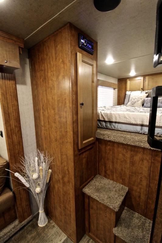 2021 SMC  3 Horse 11ft Living Quarter and Slide
