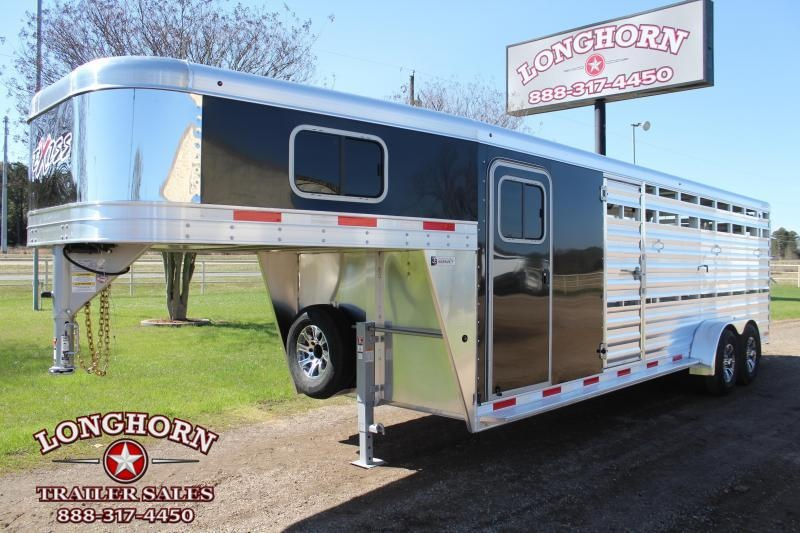 2021 Exiss 24ft Stock Combo with 6ft Tack Room