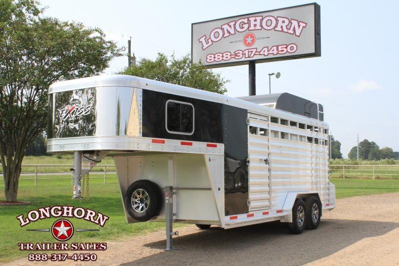 2021  Exiss 3 Horse Combo with Front Tack Room