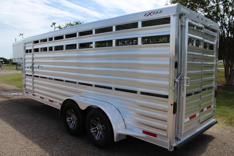 2020 Exiss 20ft Show Cattle Stock with Side Ramp