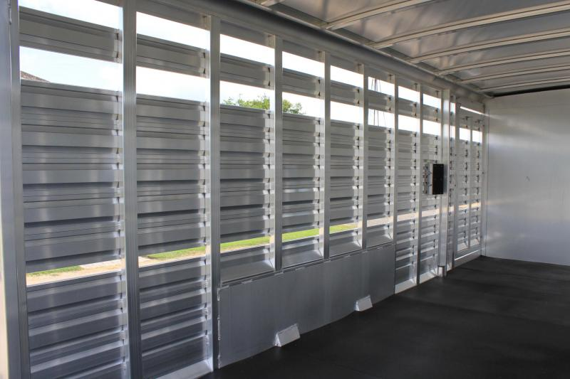 2020 Exiss Trailers 24ft Stock Combo with 6ft Tack Room