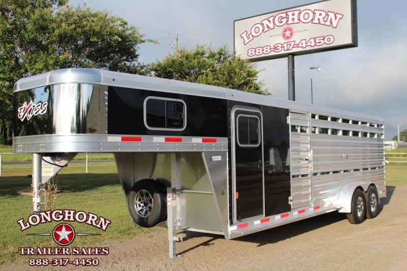 2021 Exiss 24ft Show Cattle w/ Side Ramp in Tack Room