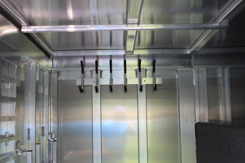 2021 Sooner 8 Pen Low Pro with Front Tack Room Livestock Trailer