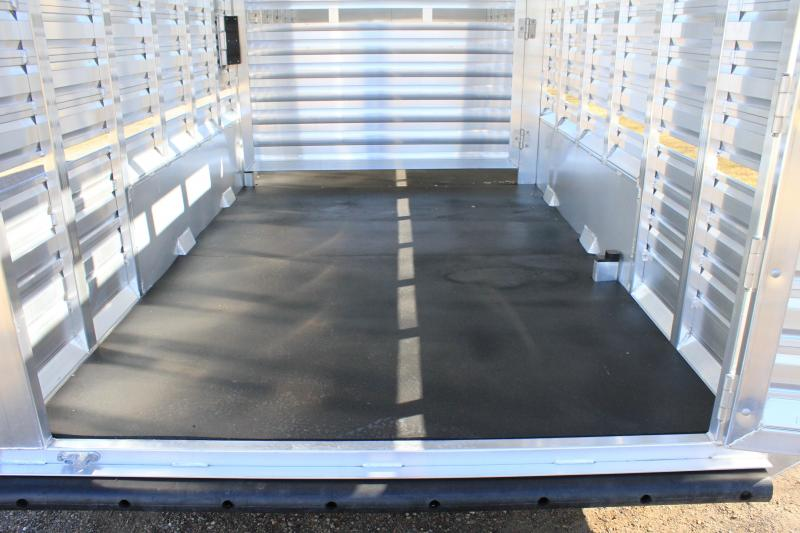 2021 Exiss  24ft HD Stock Combo with 4ft Tack Room Livestock Trailer