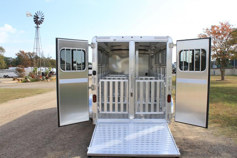 2021 Exiss Trailers 6 Pen Low Pro with Drop Down Windows