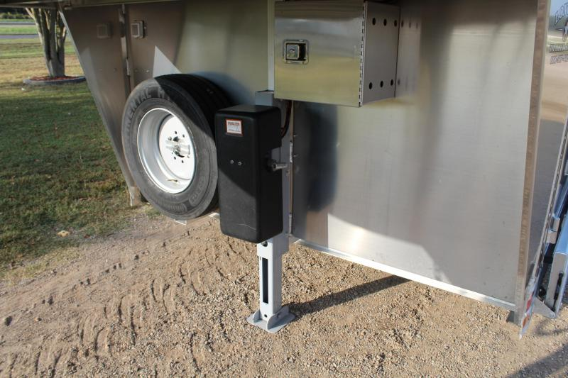 2021 Elite Trailers 10 Horse Polo Style Trailer with Tack Room Horse Trailer