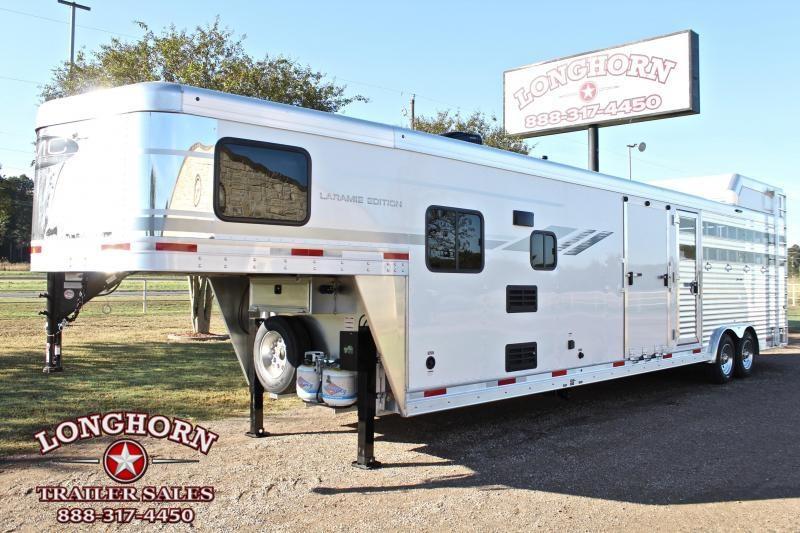2021 SMC Horse Trailers Laramie Livestock with 9ft LQ and 16ft Stock Area Livestock Trailer