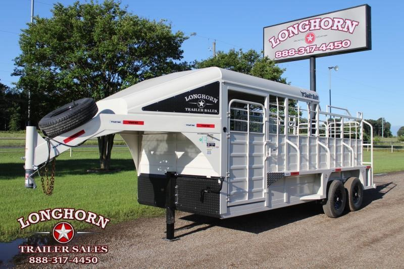 2022 Swift Built Trailers 18ft Half Top Livestock Trailer Livestock Trailer