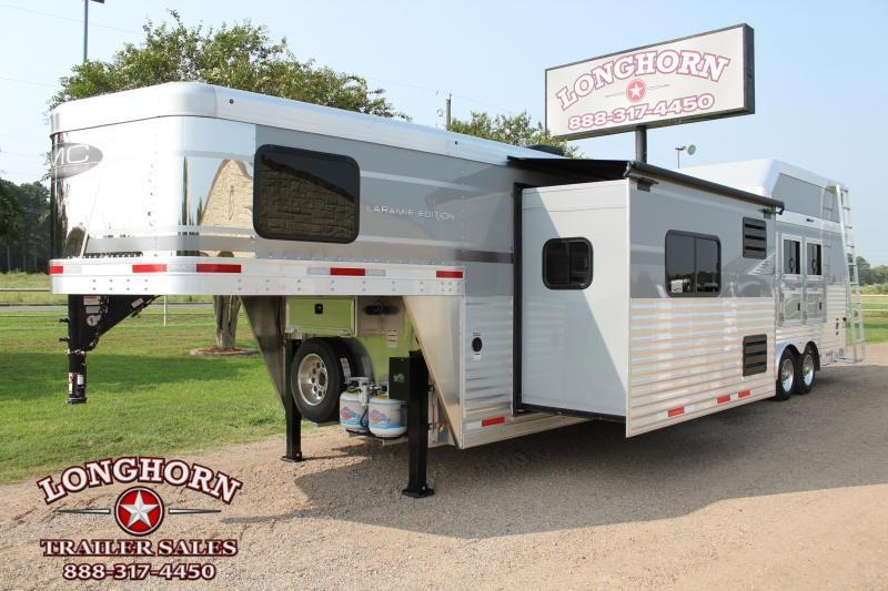 2021 SMC 4 Horse 15ft Living Quarter with U Shape Dinette