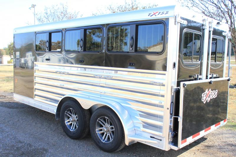 2020 Exiss 16ft Low Pro with Drop Windows and 6 Pens