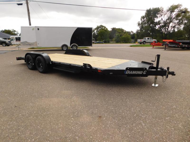 2022 Diamond C Trailers GTF 235 18x83 Car / Racing Trailer