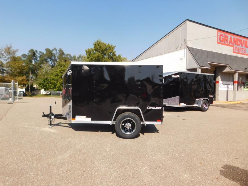 2022 Formula Trailers Conquest 5x8SA Cargo / Enclosed Trailer Formula
