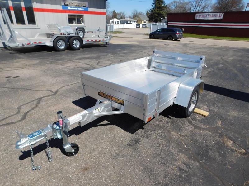 2022 Aluma 486BT-12 Rack Kit Utility Trailer