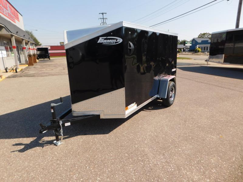 2022 Formula Trailers Conquest 5x10SA Cargo / Enclosed Trailer Formula