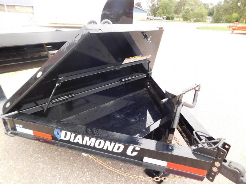 2021 Diamond C Trailers HDT20x82 Equipment Trailer