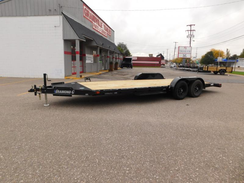 2022 Diamond C Trailers GTF 206 L 20x83 Car / Racing Trailer