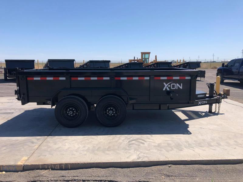 2020 X-On Bumperpull Dump Trailer 14'