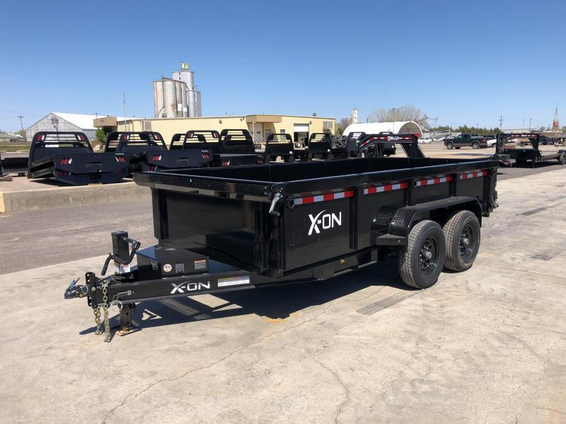 2020 X-On 14K Bumperpull Dump Trailer 83 x 14'