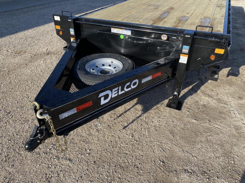 2021 Delco 102x22 Flatbed Trailer