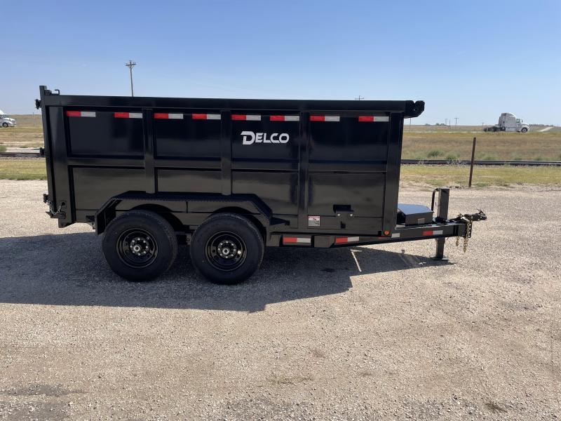 """2021 Delco 83""""x12' Dump Trailer"""