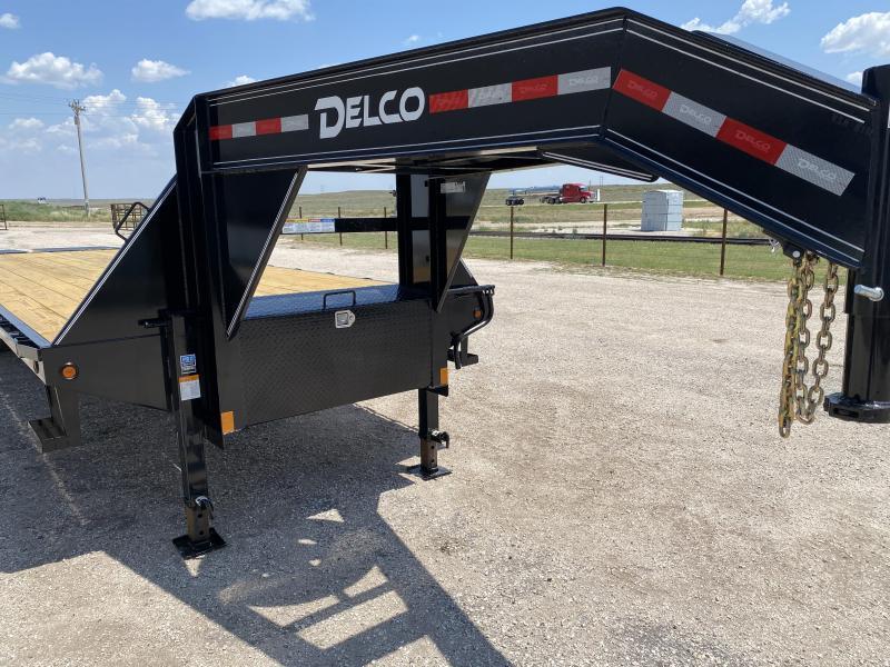 """2021 Delco 102""""x32' Flatbed Trailer"""