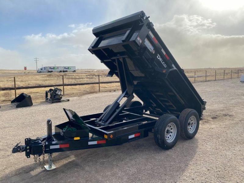 2021 Delco 5'x10' Bumperpull Dump 7K