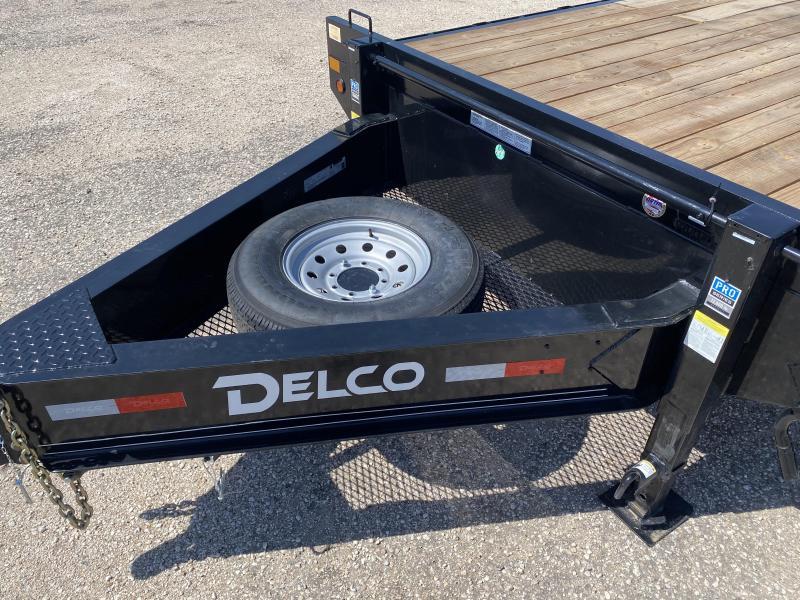 """2021 Delco 102""""x22' Flatbed Trailer"""