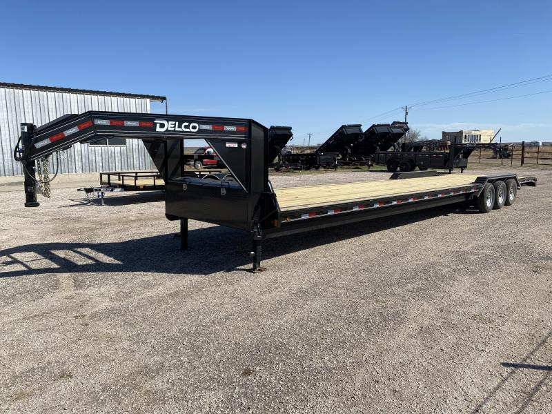"""2021 Delco Trailers 102""""x40 GN CH Car / Racing Trailer"""
