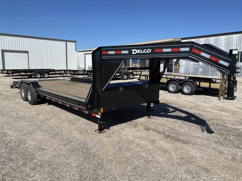 "2021 Delco Trailers 102""x24' GN CH Car / Racing Trailer"