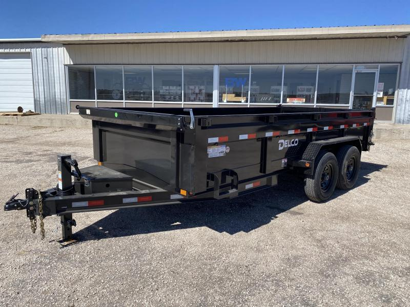 "2021 Delco 83""x16' BP Dump Trailer 14K"