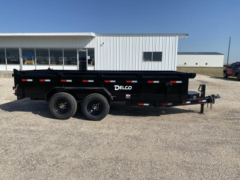 """2021 Delco 83""""x16' Dump Trailer"""