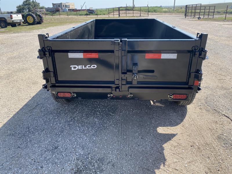 2021 Delco Trailers 5'x10' Dump Trailer