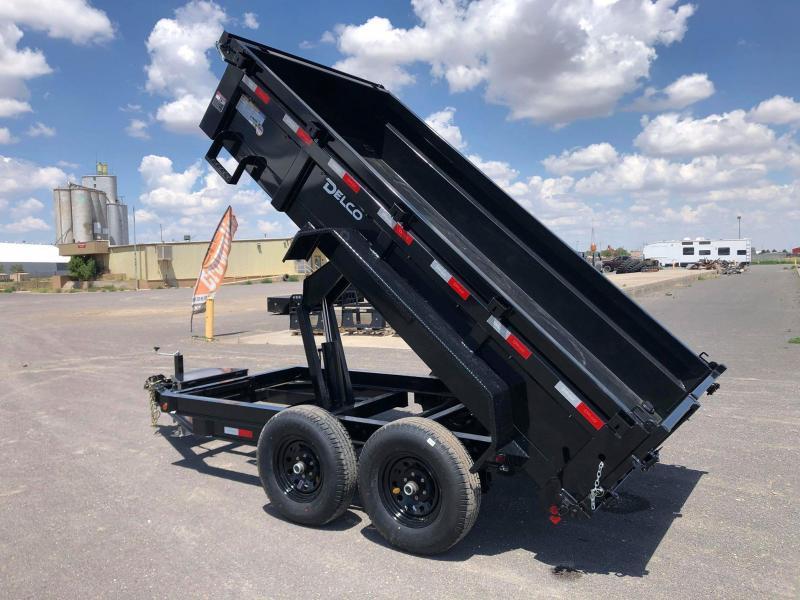 2020 Delco 72x12 Bumperpull Dump Trailer 12K