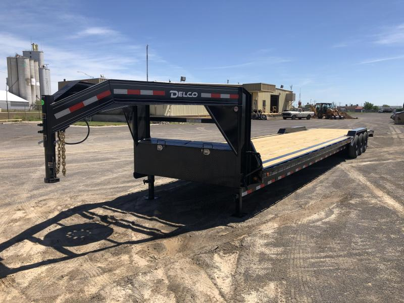 2019 Delco Gooseneck Equipment Trailer 40'