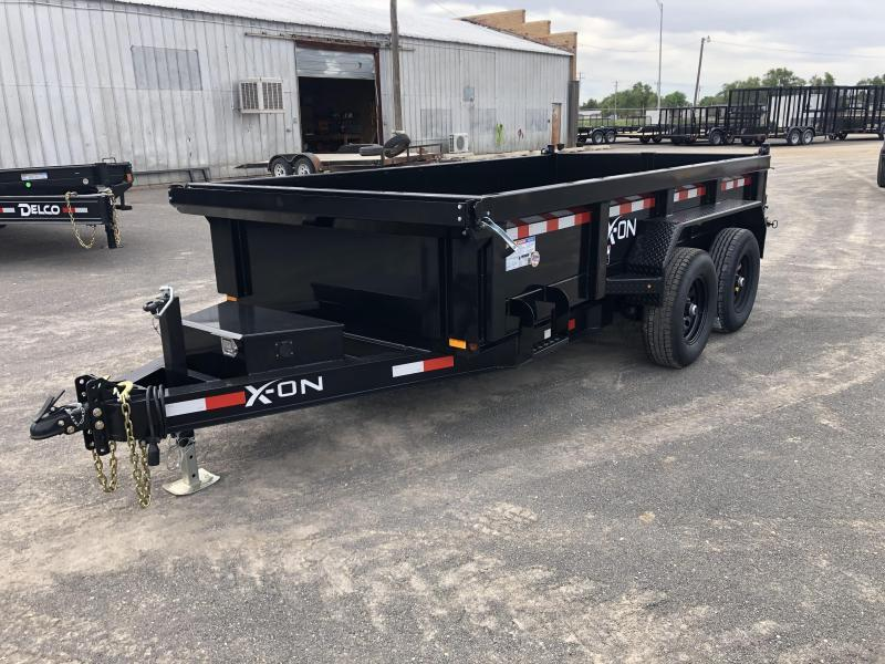 2020 X-On Bumperpull Dump Trailer 72x12 10k