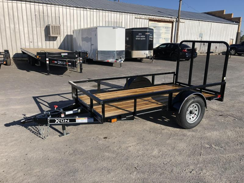 "2020 X-On Bumperpull Utility Trailer 60""x10' 3.5k"