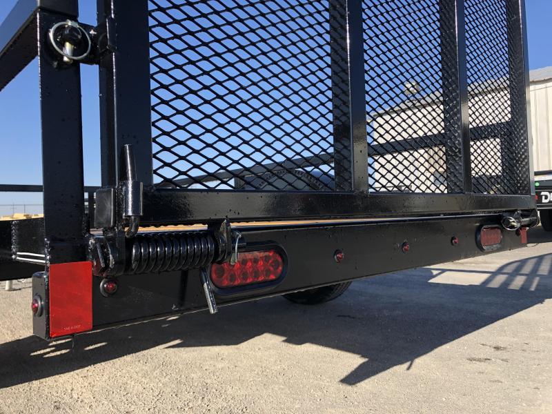 "2020 X-On Bumperpull Utility Trailer 60""x10' 3.5k"