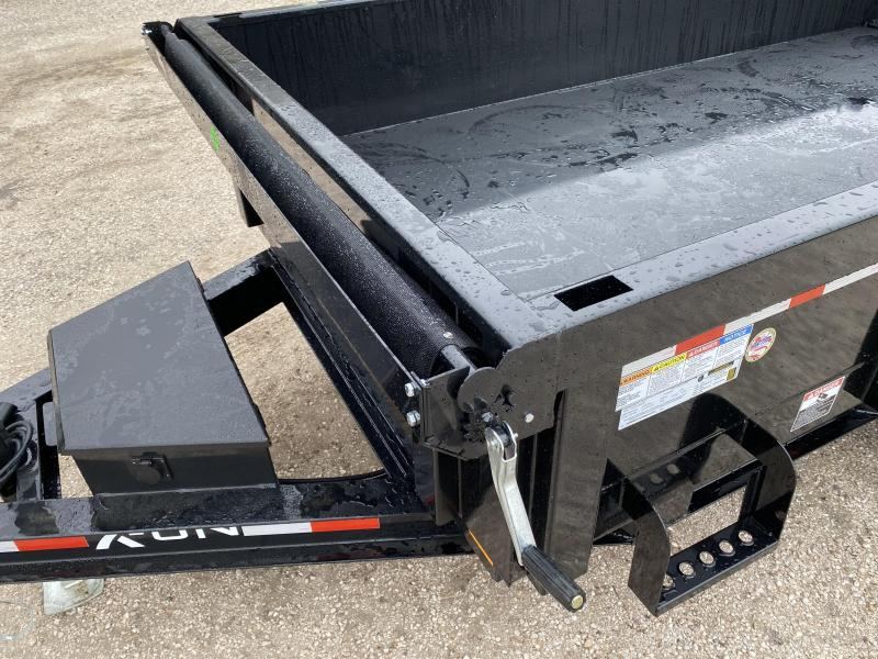 2021 Delco/ X-ON 72x12 12K Dump Trailer