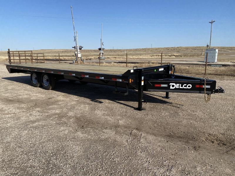 2021 Delco 102x25 Flatbed Trailer
