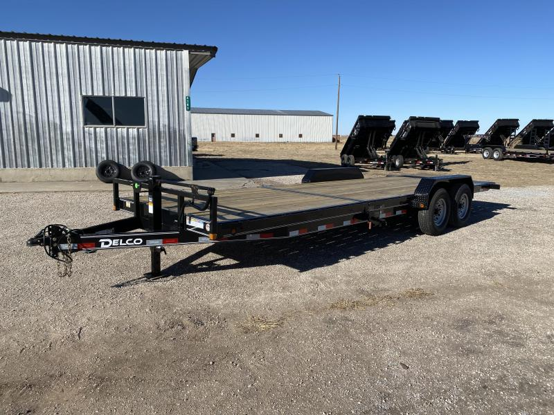 2021 Delco 83x24 BP Tilt Trailer 14K