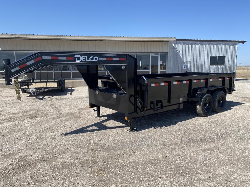 2021 Delco 83x16 Dump Trailer
