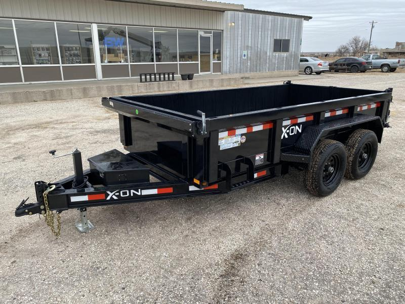 2021 Delco/ X-ON 72x12 12K Dump Trailer