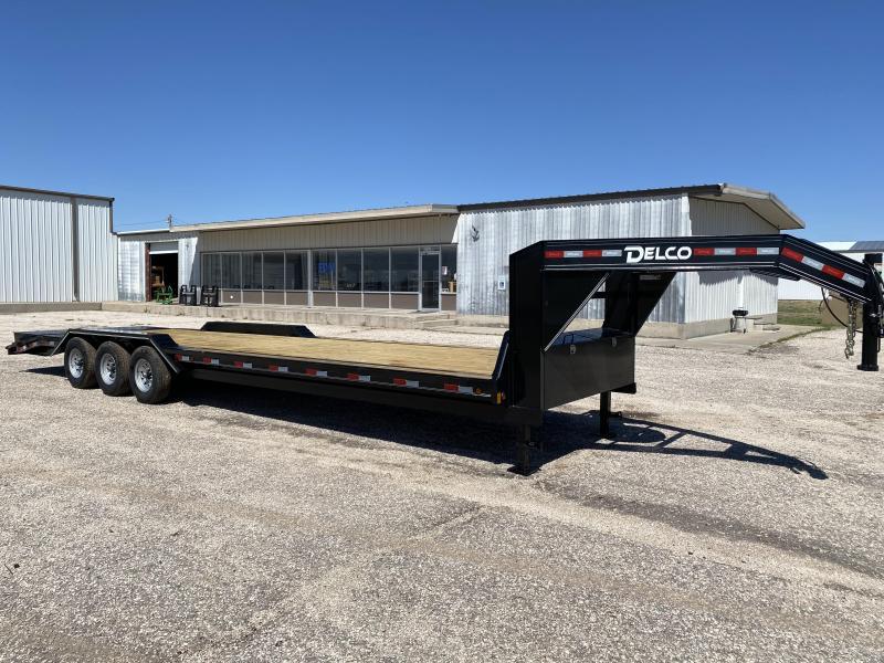 "2021 Delco Trailers GN Carhauler 102""x32' Car / Racing Trailer"