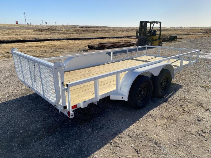 2021 X-On 77x16 Utility Trailer
