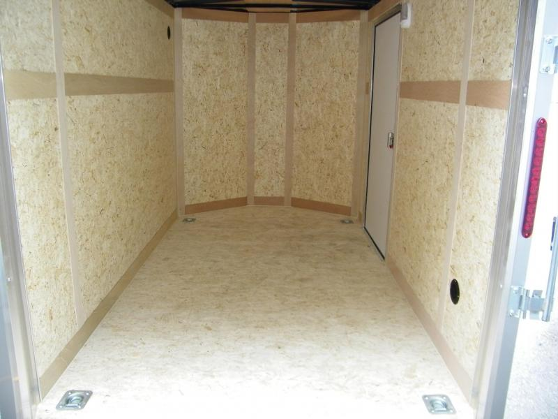 2020 Wells Cargo Road Force V-Nose 6x10 Enclosed Cargo Trailer