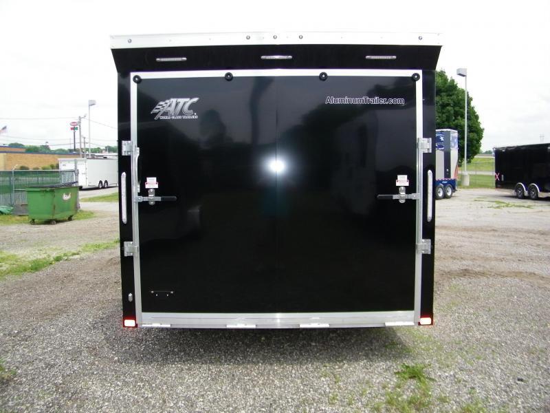 2021 ATC Raven 8.5x24 Aluminum Enclosed Car Hauler Car / Racing Trailer