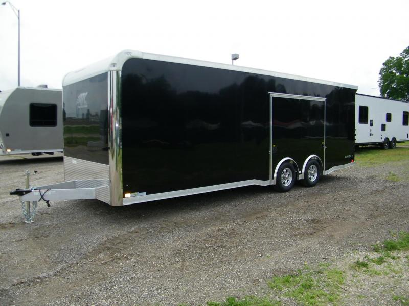 2021 ATC Raven 8.5x24 Aluminum Enclosed Car Hauler Car / Racing Trailer