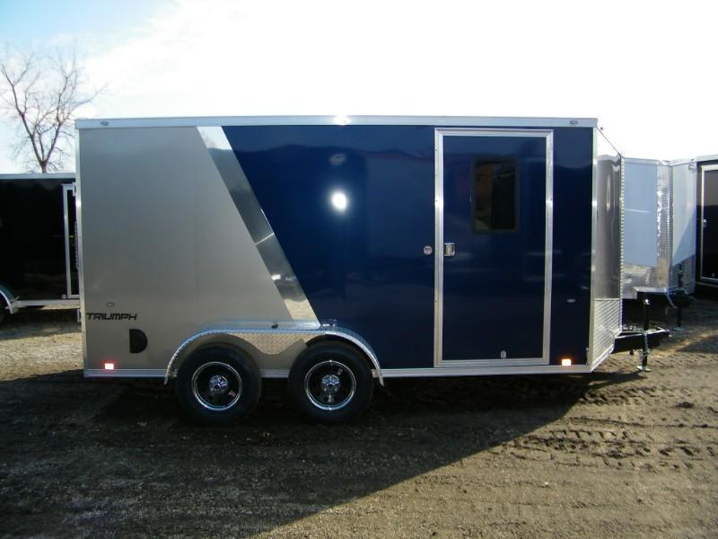 2019 Formula Triumph 7x14 V-Nose Enclosed Cargo Trailer