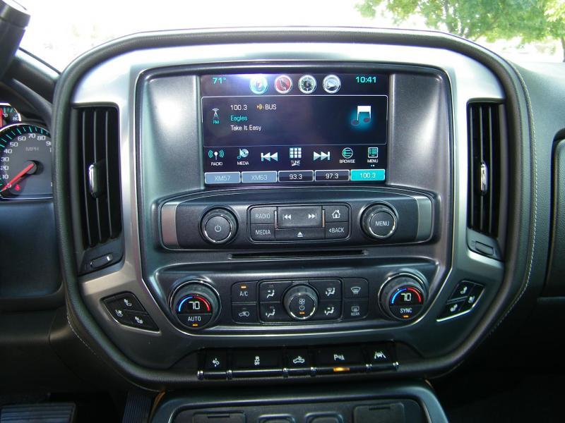 2016 Chevrolet Silverado 1500 LTZ Crew Cab 4x4 Truck
